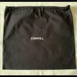 Large Chanel drawstring dust bag